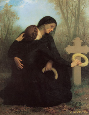 The Day of the Dead (1859), de William-Adolphe Bouguereau
